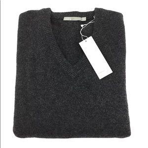 Vince men's V-neck ultra soft 100%cashmere size XL